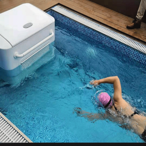 Swimming pool wave machine / counter current machine for your ...